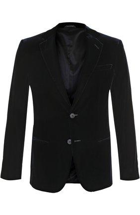Однобортный приталенный пиджак