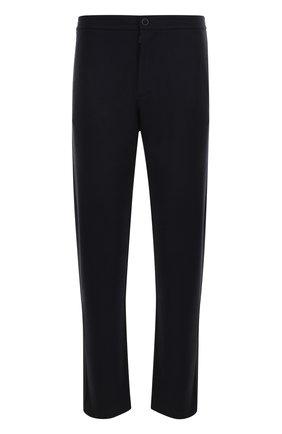 Кашемировые брюки прямого кроя