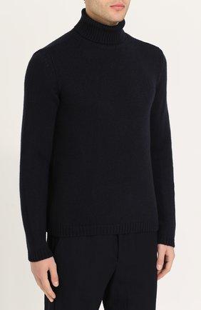Кашемировый свитер тонкой вязки | Фото №3