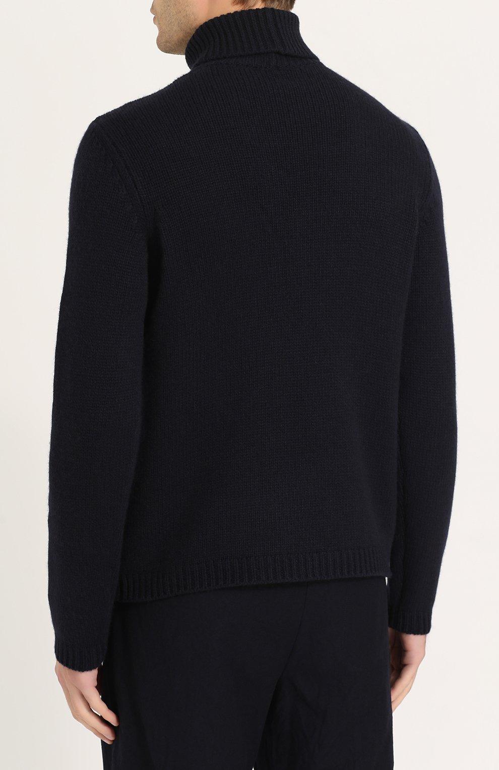 Кашемировый свитер тонкой вязки | Фото №4