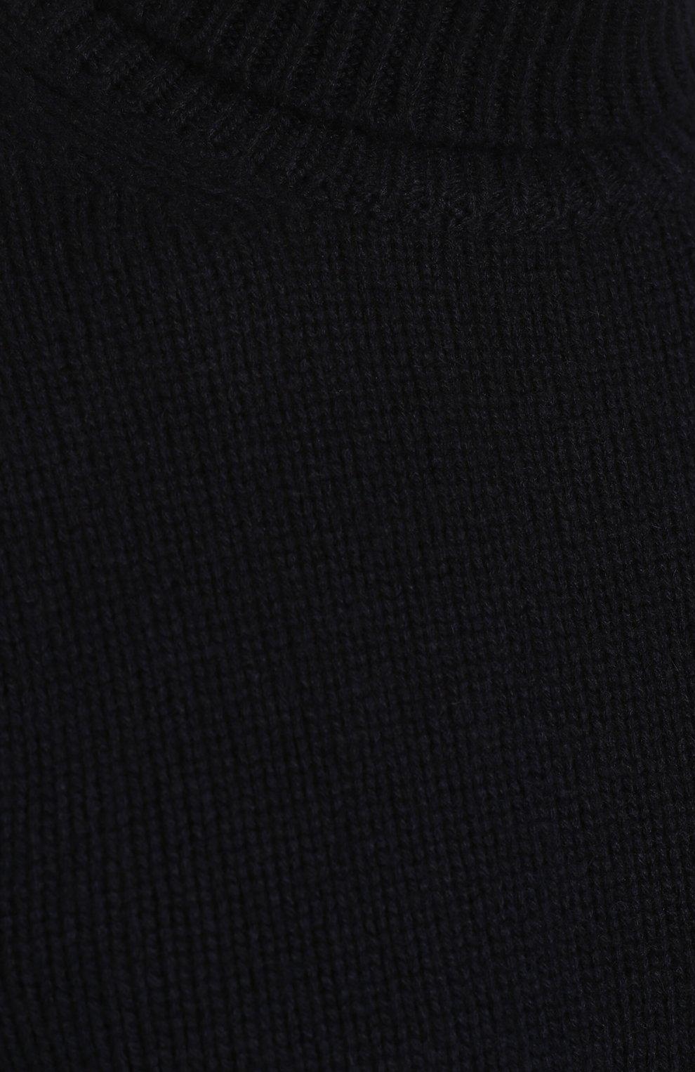 Кашемировый свитер тонкой вязки | Фото №5