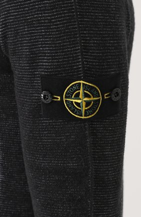 Шерстяное худи с логотипом бренда | Фото №5