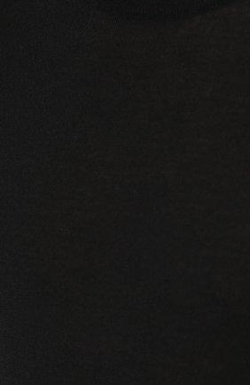 Кашемировый джемпер тонкой вязки Dolce & Gabbana черный | Фото №5