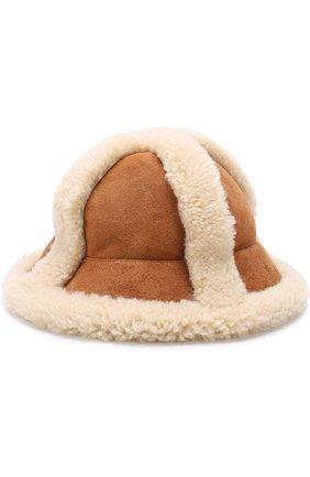 Шляпа с отделкой из овчины | Фото №1