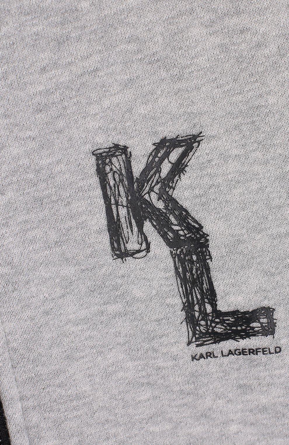 Спортивный кардиган с логотипом бренда | Фото №3