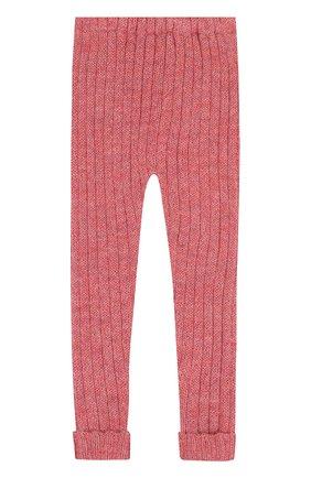 Детские леггинсы из шерсти Oeuf розового цвета | Фото №1