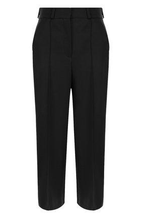 Укороченные шерстяные брюки со стрелками | Фото №1