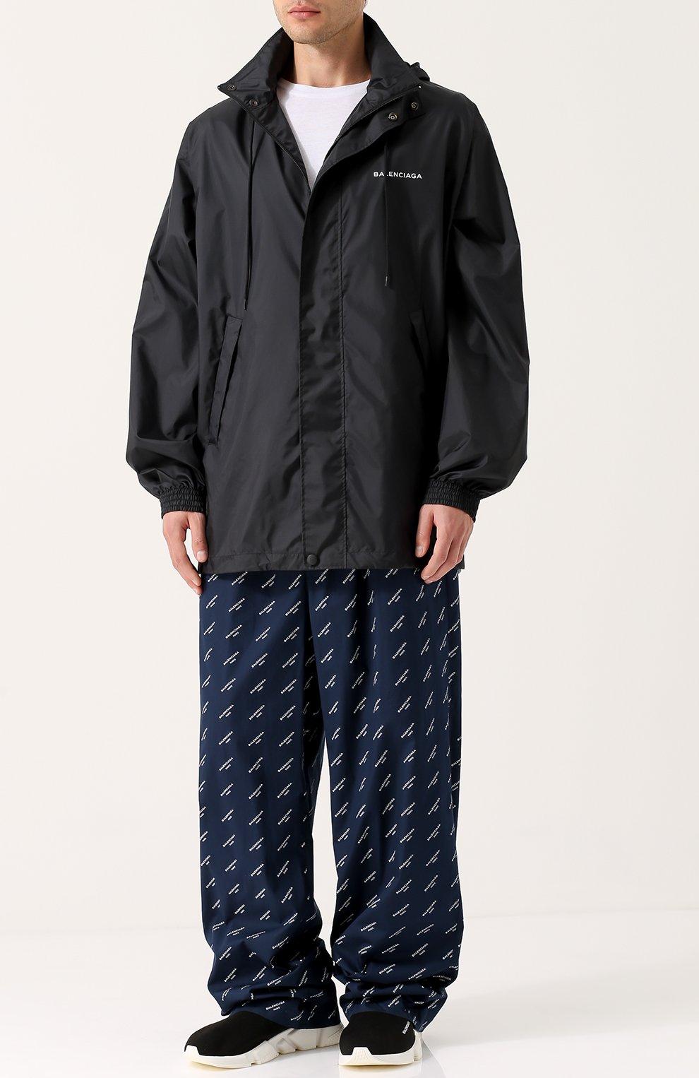 7c6669110ce4 Мужские черные текстильные кроссовки speed BALENCIAGA — купить за ...