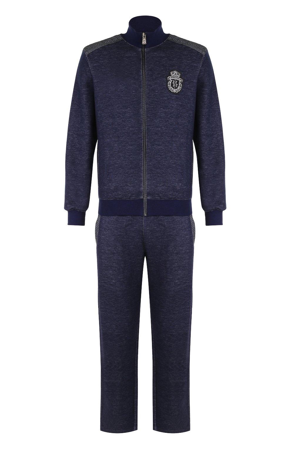 Кашемировый спортивный костюм BILLIONAIRE темно-синего цвета ... 66333316b6a
