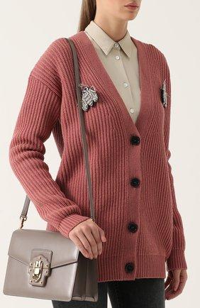 Сумка Lucia Dolce & Gabbana серая цвета | Фото №6
