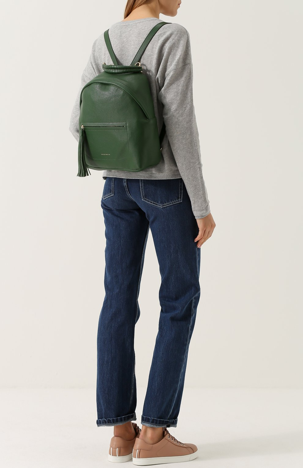 Рюкзак Leonie Coccinelle зеленый   Фото №2