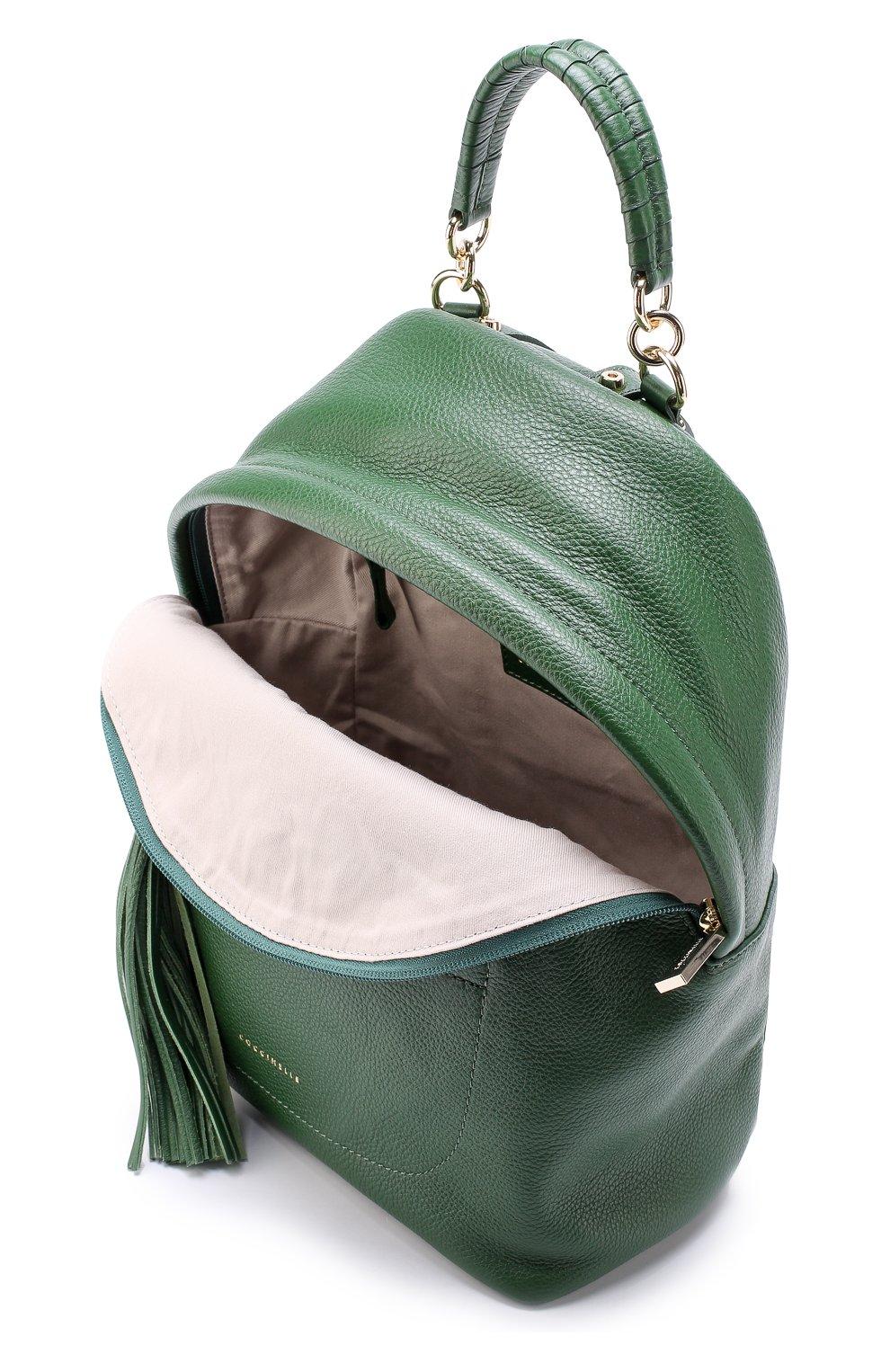 Рюкзак Leonie Coccinelle зеленый   Фото №4