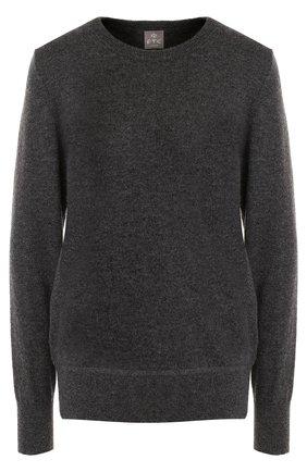 Кашемировый пуловер с бантами на спинке   Фото №1