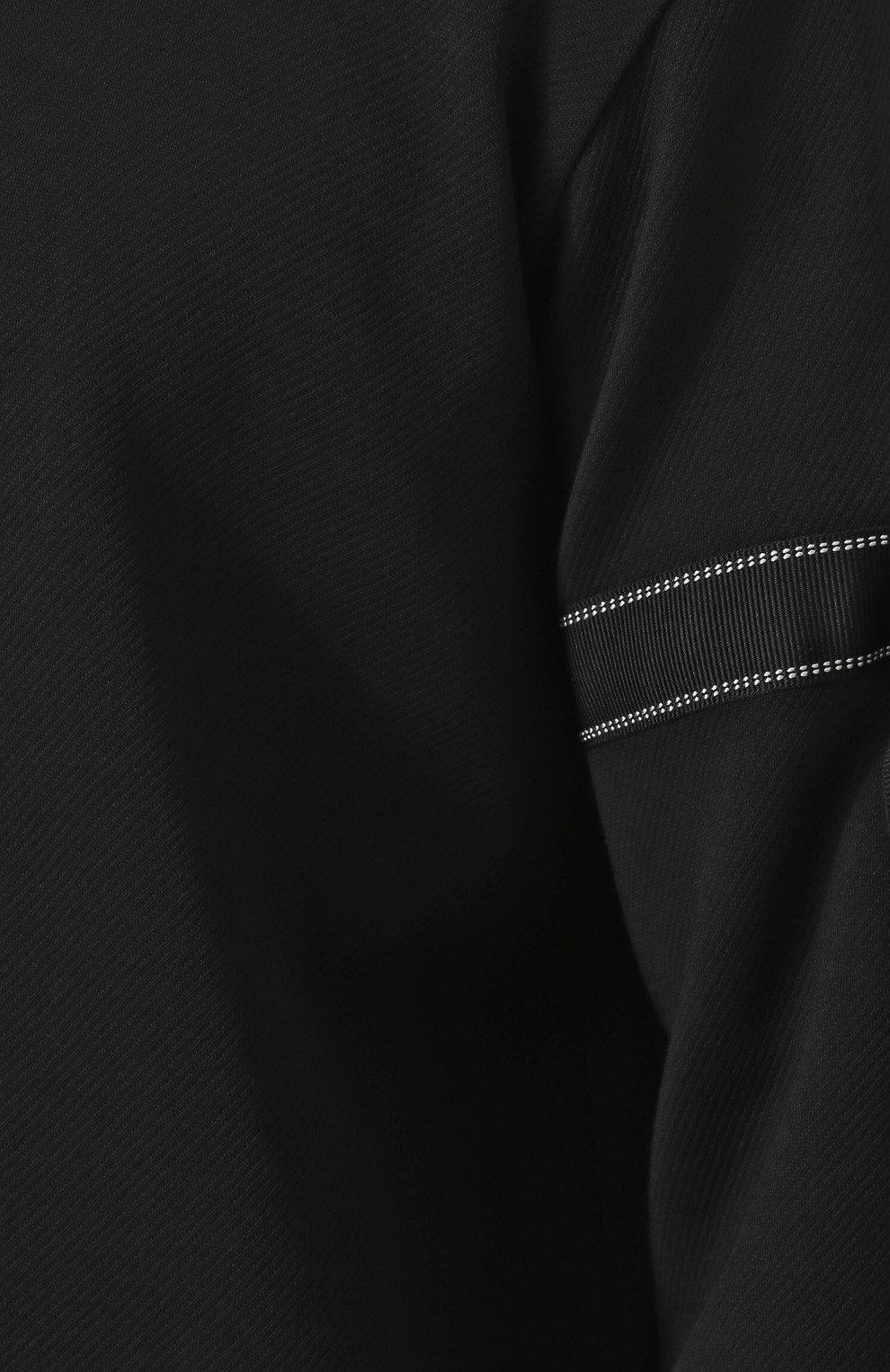 Джемпер свободного кроя из смеси шерсти и хлопка   Фото №5