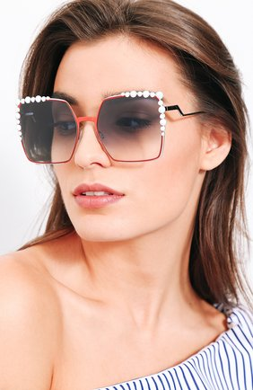 Мужские солнцезащитные очки FENDI разноцветного цвета, арт. 0259 L7Q | Фото 2