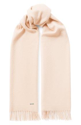 Мужские кашемировый шарф grande unita LORO PIANA светло-розового цвета, арт. FAA1056 | Фото 1