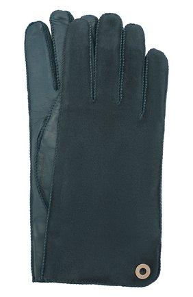 Перчатки Jacqueline из кожи и замши   Фото №1
