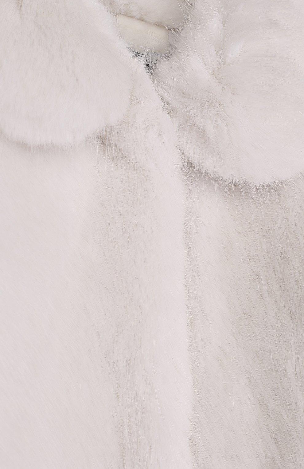 Шуба из эко-меха | Фото №3