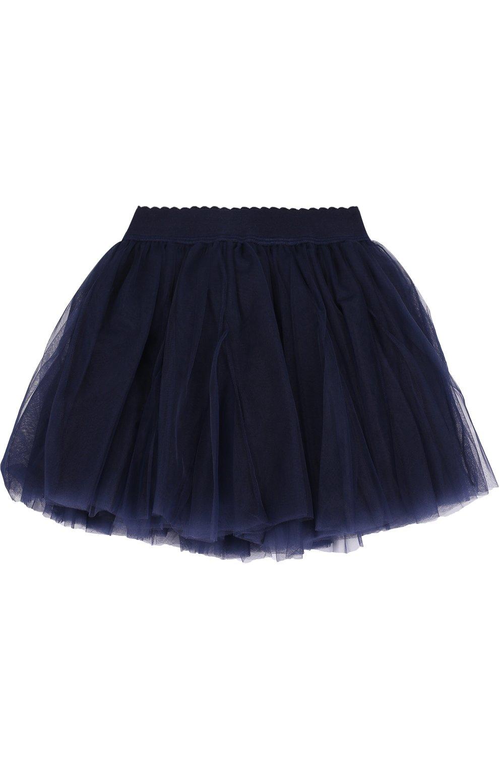 Многослойная мини-юбка с эластичным поясом   Фото №1