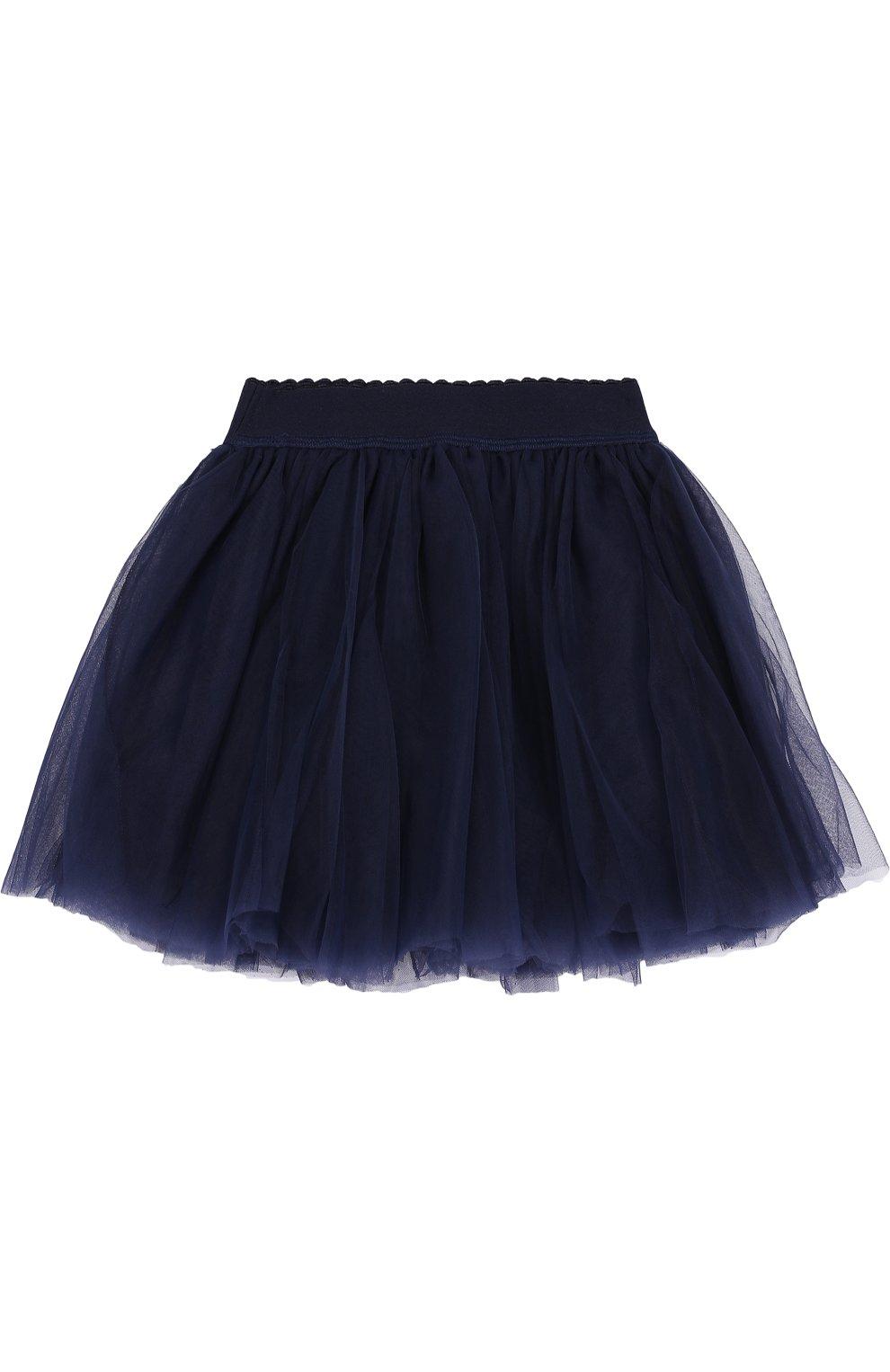 Многослойная мини-юбка с эластичным поясом   Фото №2