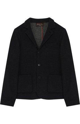 Однобортный пиджак из кашемира | Фото №1