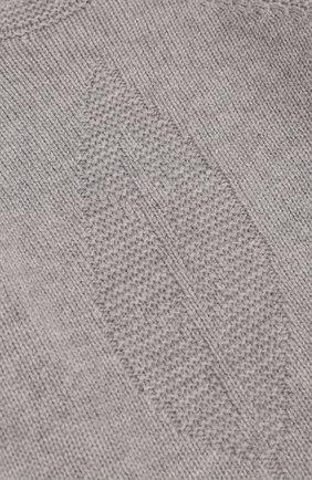 Детский кашемировый пуловер LORO PIANA светло-серого цвета, арт. FAG3935 | Фото 3