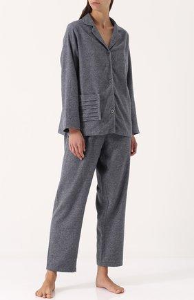 Однотонная хлопковая пижама | Фото №1
