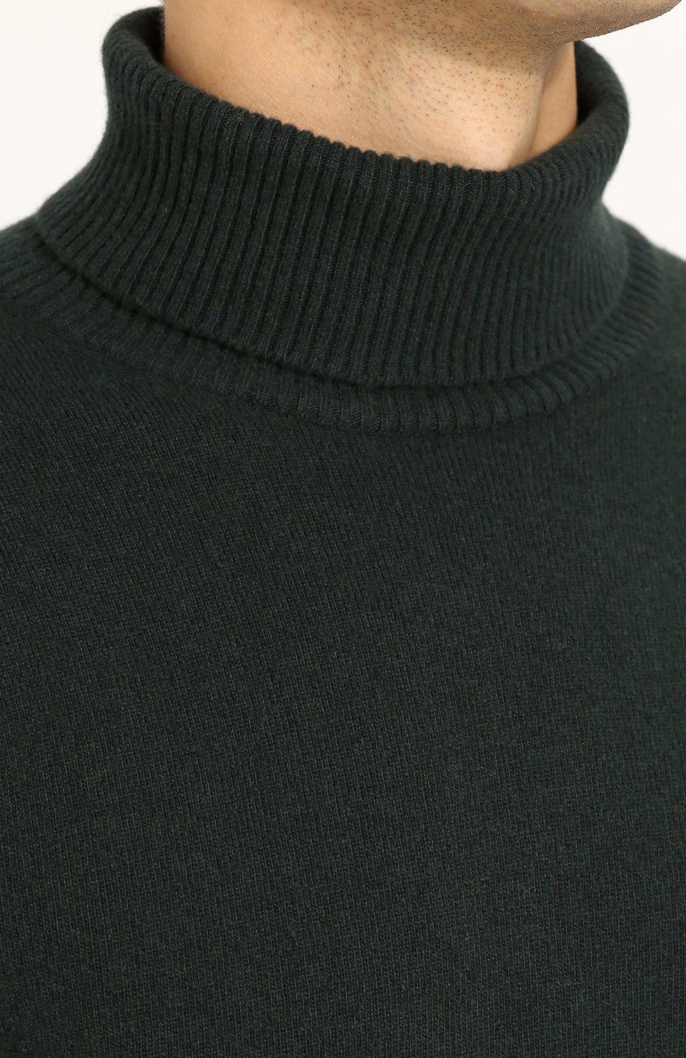 Водолазка из смеси шерсти и кашемира | Фото №5