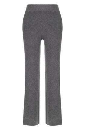 Расклешенные кашемировые брюки с карманами Not Shy хаки   Фото №1