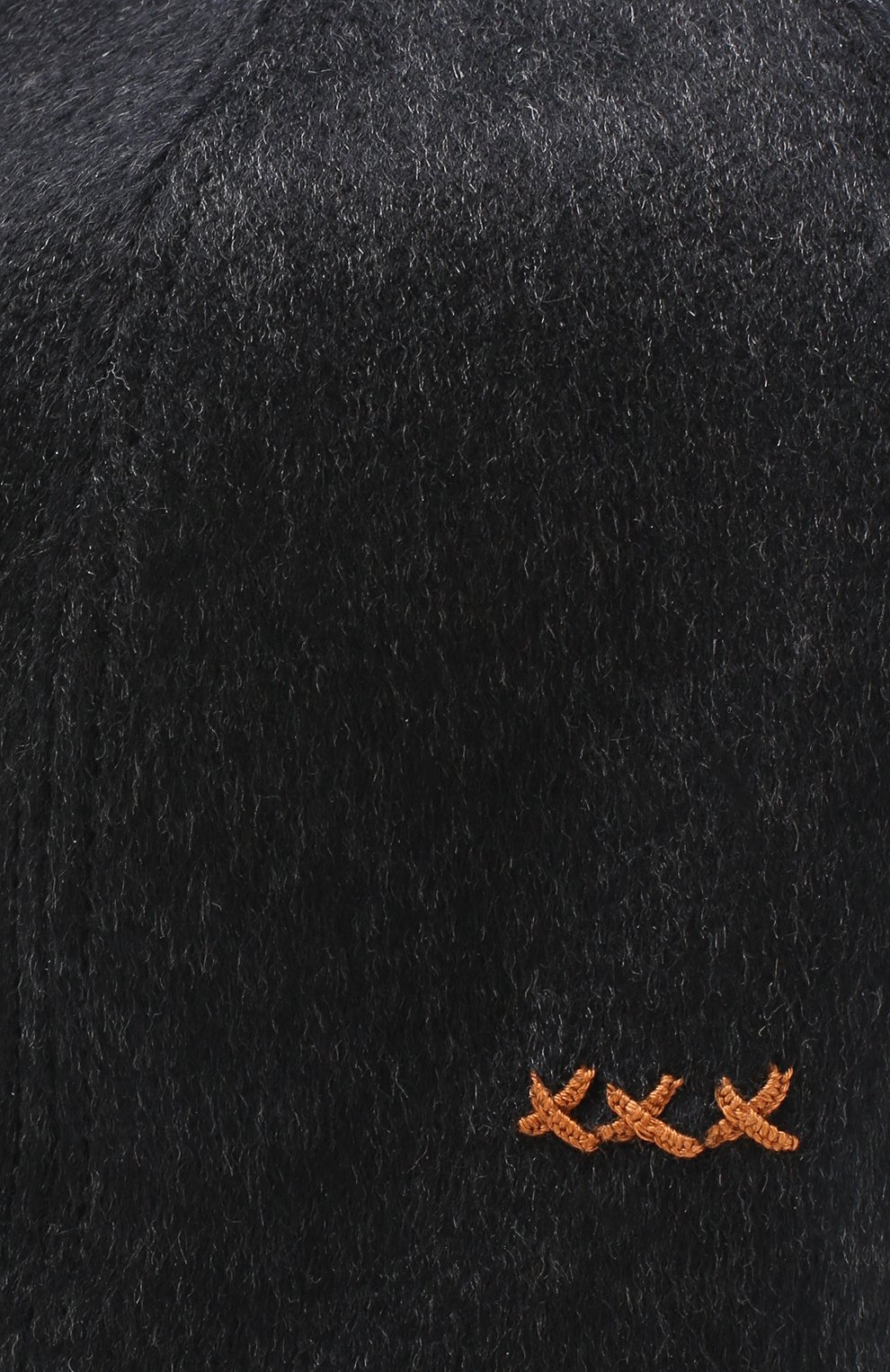 Мужской кашемировая бейсболка ERMENEGILDO ZEGNA серого цвета, арт. Z2I82/B2I   Фото 3