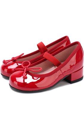 Лаковые туфли с бантами | Фото №1