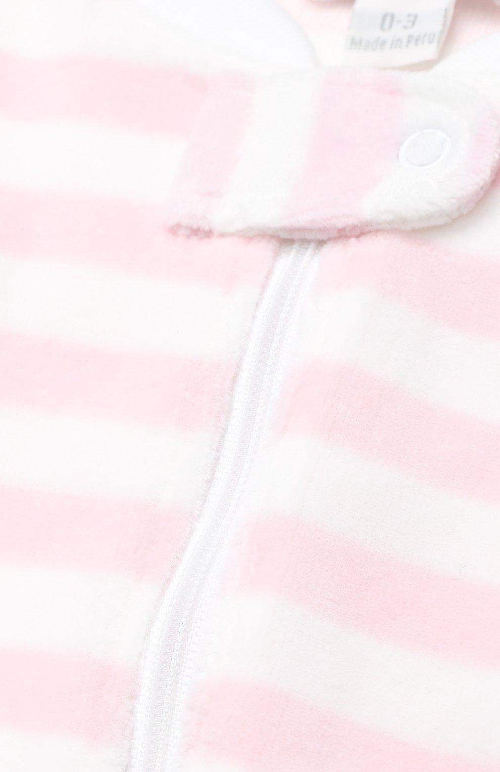 Хлопковая пижама в полоску | Фото №3