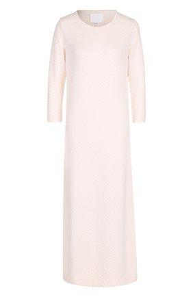 Шерстяное платье-миди с укороченным рукавом | Фото №1
