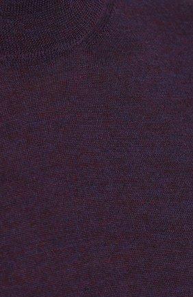 Джемпер из шерсти тонкой вязки | Фото №5