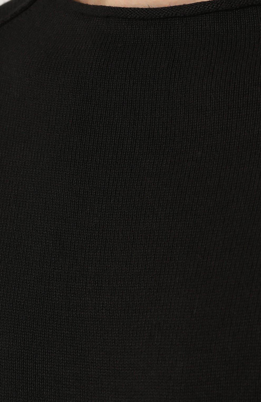 Джемпер из вискозы с воротником на молнии   Фото №5