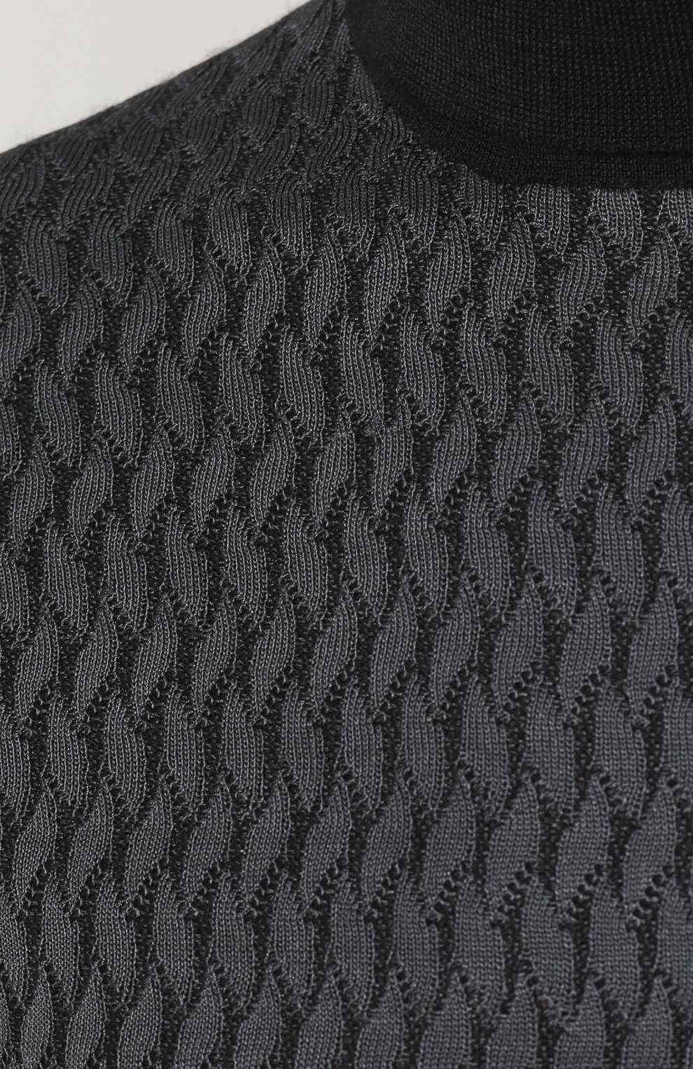 Водолазка из смеси шелка и кашемира | Фото №5