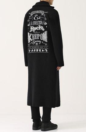 Двубортное шерстяное пальто Gemma. H черного цвета | Фото №1