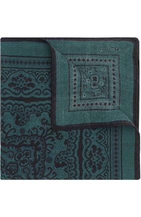 Шерстяной платок с узором | Фото №1