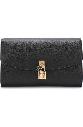 Клатч Dolce на цепочке Dolce & Gabbana черного цвета | Фото №1