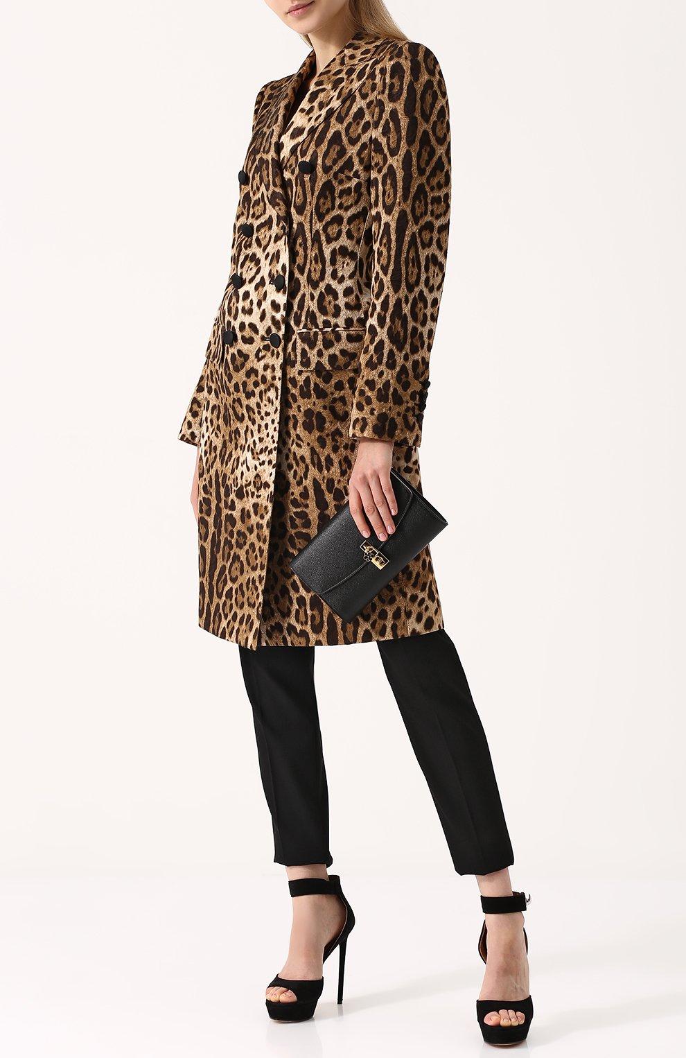 Клатч Dolce на цепочке Dolce & Gabbana черного цвета | Фото №2