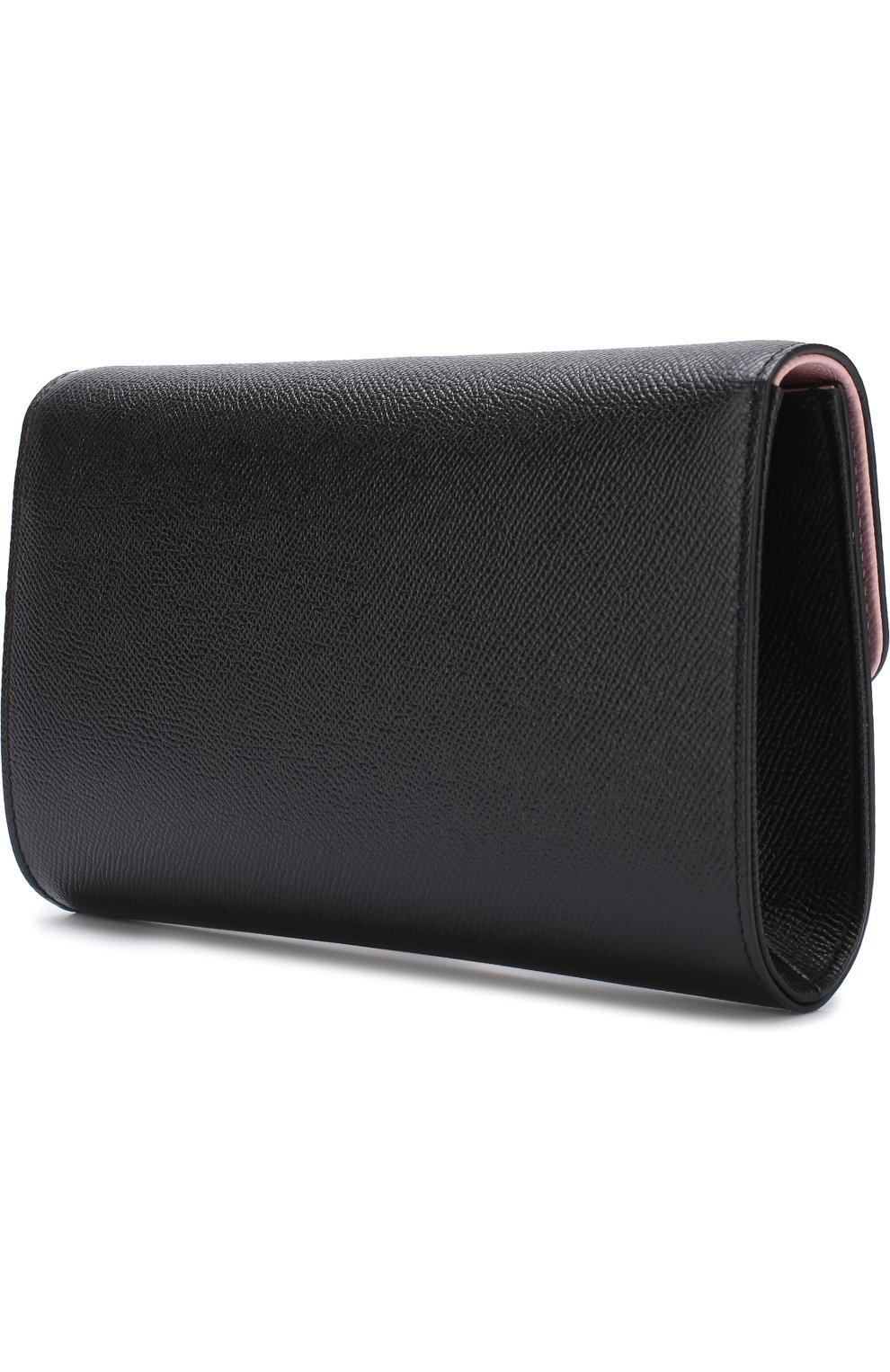 Клатч Dolce на цепочке Dolce & Gabbana черного цвета | Фото №3