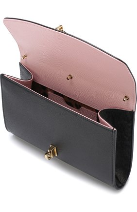 Клатч Dolce на цепочке Dolce & Gabbana черного цвета | Фото №4