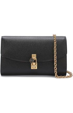 Клатч Dolce на цепочке Dolce & Gabbana черного цвета | Фото №6