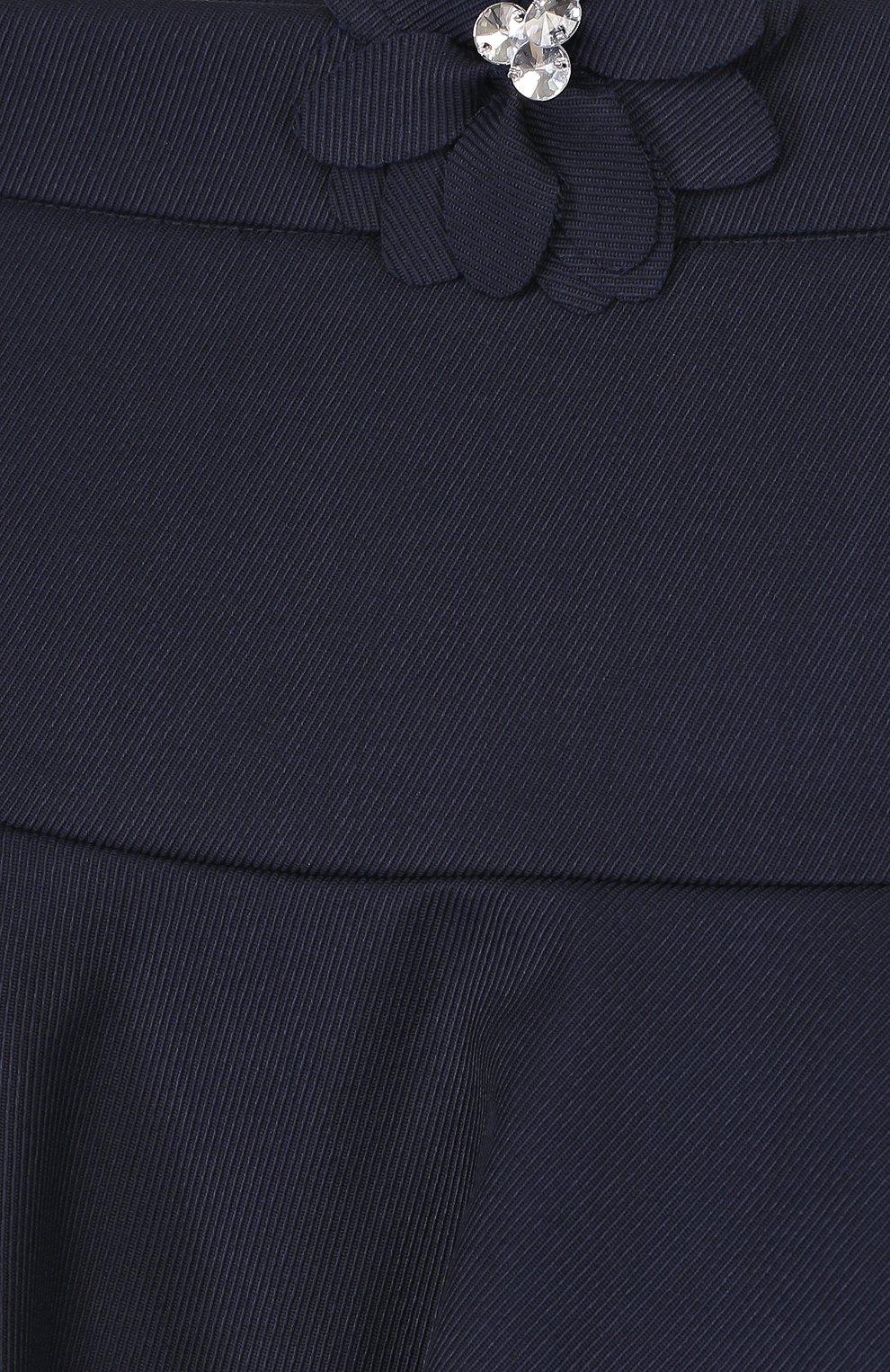 Шерстяная юбка с аппликацией | Фото №3