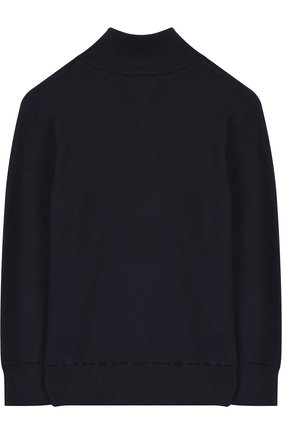 Хлопковый свитер с логотипом бренда | Фото №2