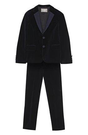 Хлопковый костюм с однобортным пиджаком | Фото №1