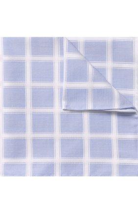 Хлопковый платок в клетку | Фото №1