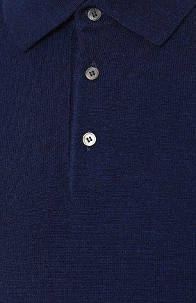 Кашемировое поло с длинными рукавами | Фото №5