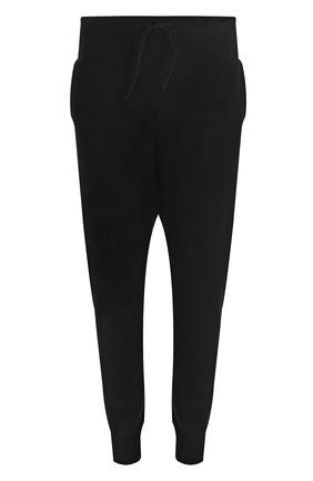 Шерстяные джоггеры с карманами Gemma. H черные | Фото №1