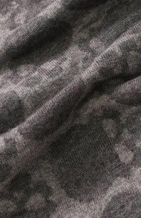 Шерстяной шарф с принтом Gemma. H серый | Фото №1